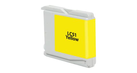 DATAPRODUCTS - Remanufactured Yellow Ink Cartridge for Brother LC51