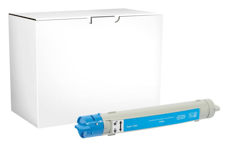 CIG BRAND - New High Yield Cyan Toner Cartridge for OKI 42804503/42127403
