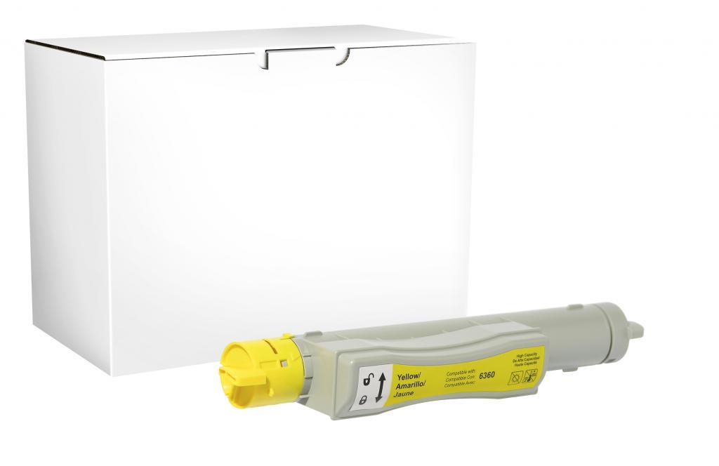 CIG BRAND - New Yellow Toner Cartridge for Xerox 106R01216/106R01220